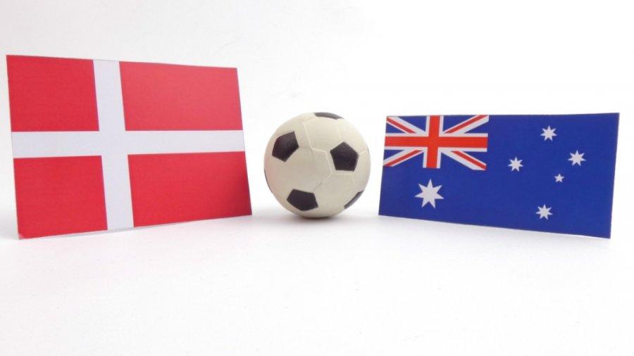 Danmark - Australien VM
